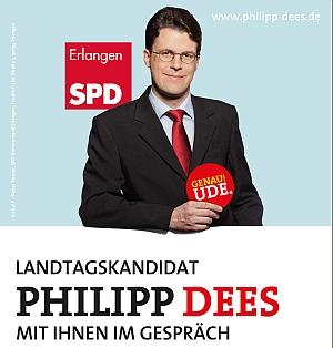 Plakat zur Bürgersprechsstunde