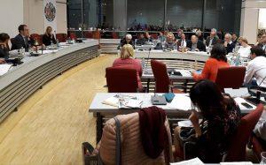 Blick auf das Plenum des Erlanger Stadtrats