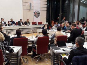 Blick in das Plenum des Erlanger Stadtrats