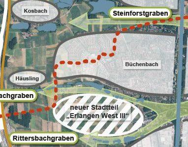 Ein neuer Stadtteil für Erlangen?