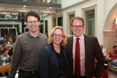 Philipp Dees, Natascha Kohnen und Florian Janik